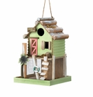 Love Nest Wooden Birdhouse