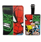 Marvel Face Off Passport Luggage Tag