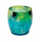 Mediterranean Splash Candle Holder
