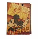Mickey Mouse Retro Love Small Photo Album