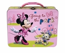 Minnie Mouse Going To The Park Embossed Tin Lunch Box
