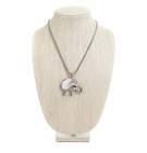 Mother Of Pearl Elephant Necklace