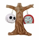 Nightmare Before Christmas Jack and Sally Heads Salt and Pepper Shakers