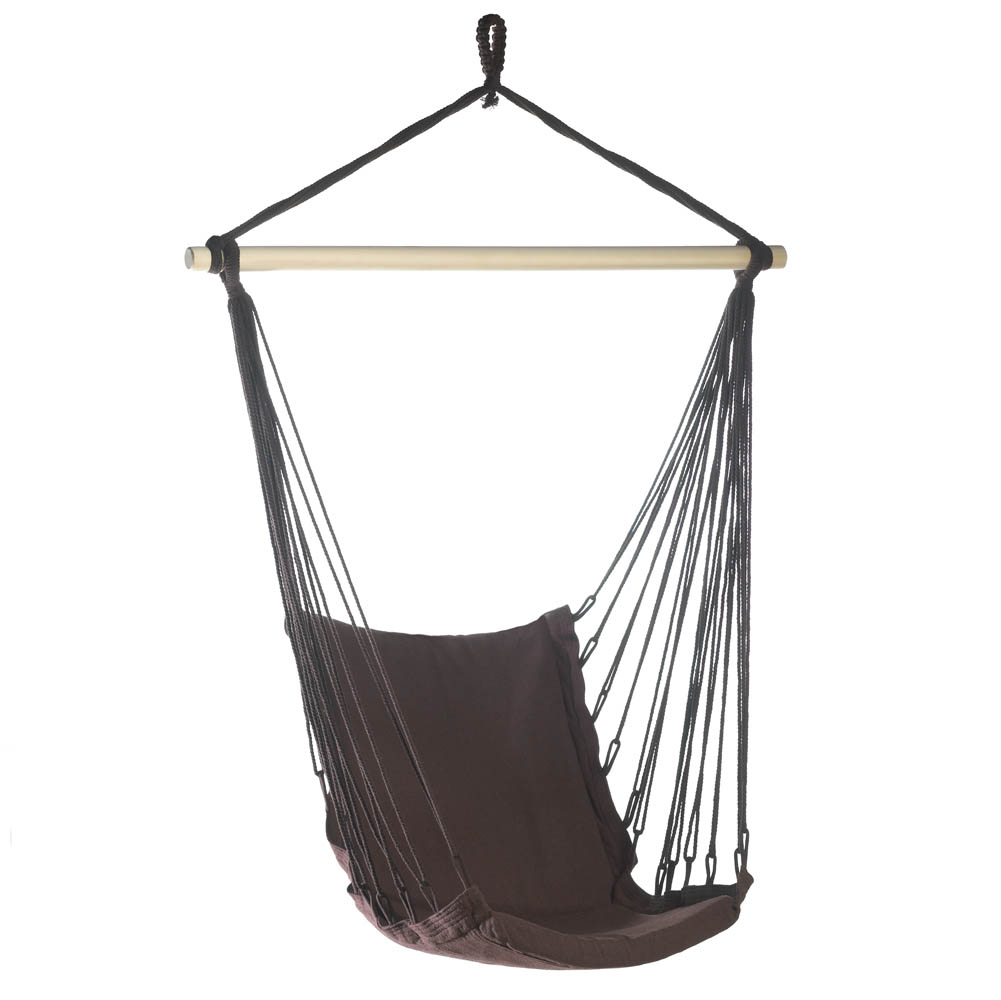 Outdoor Espresso Swing Chair Wholesale at Koehler Home Decor