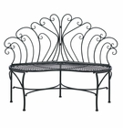 Peacock Patio Garden Bench
