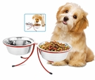 Pet Double Diner Stainless Steel Bowls