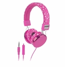 Pink Stars Headphones