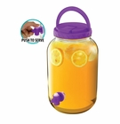 Purple Gallon Beverage Dispenser