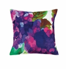 Purple Impressionist Throw Pillow