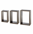 Rectangular Floating Wall Cubes
