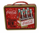 Red Coca-Cola Tin Lunch Box