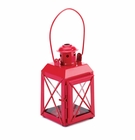 Red Railway Candle Lantern Lamp