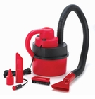 Red Wet & Dry Led Auto Vacuum