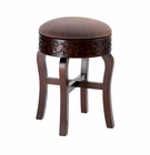 Regent Carved Round Foot Stool