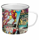 Retro Marvel Enamel Mug