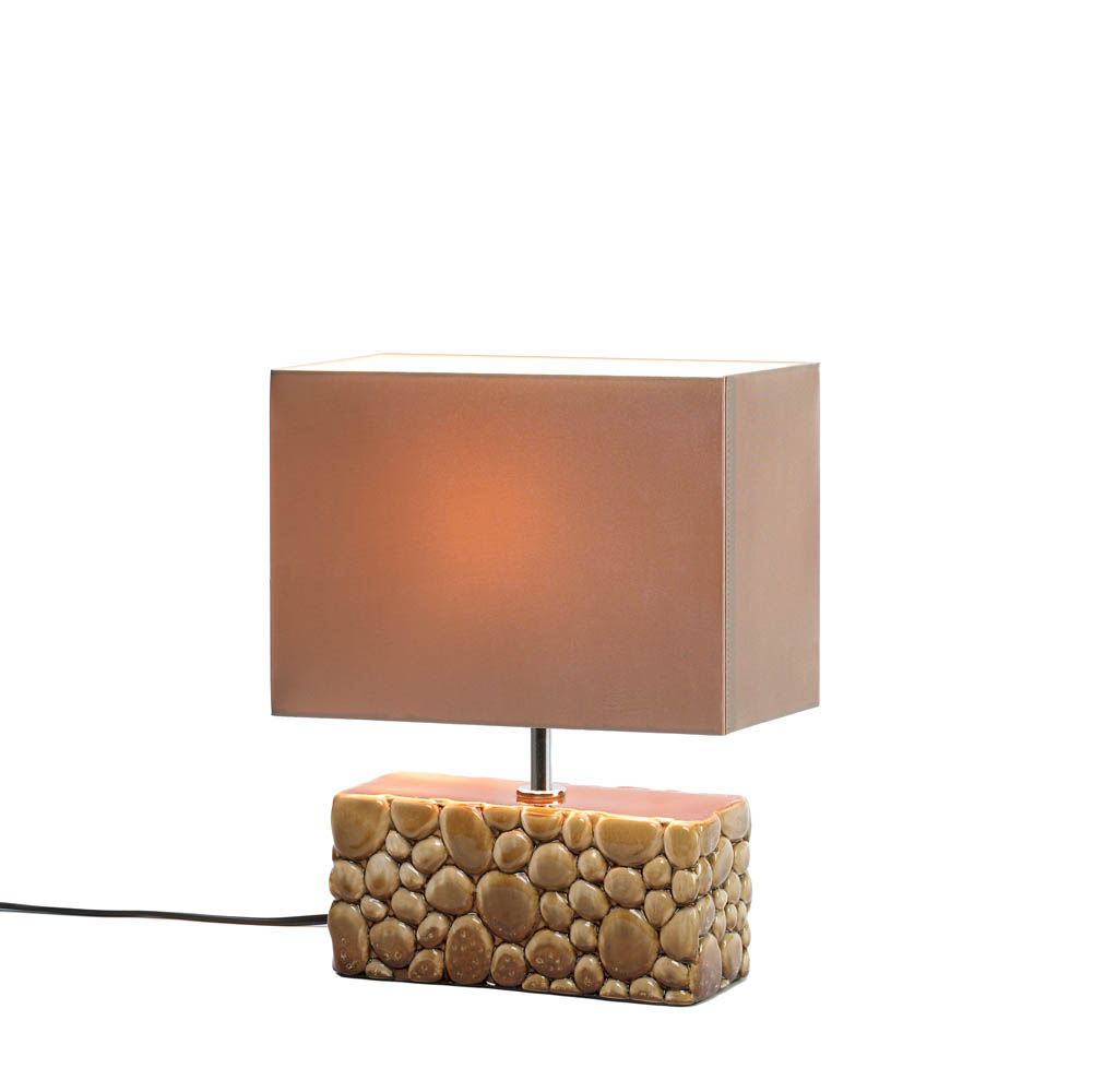 River Rock Table Lamp Wholesale at Koehler Home Decor