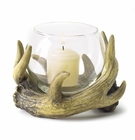 Rustic Antler Candle Holder