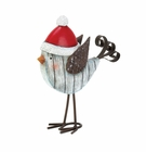 Snowbird with Santa Hat Figurine