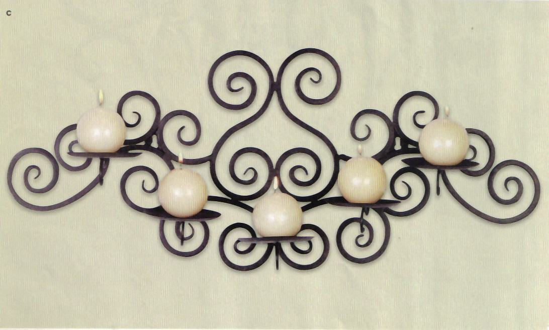 Wall Mounted Candle Holders