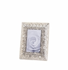 Silver Medallion 4X6 Photo Frame