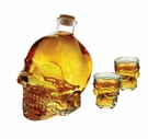 Skull Decanter & Shot Set