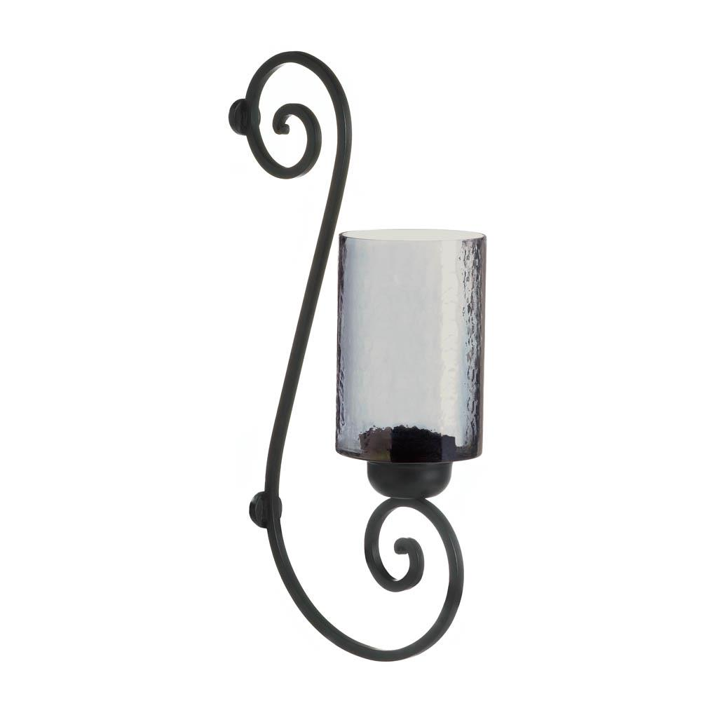 Wall Sconces Bulk: Smoked Glass Wall Sconce Wholesale At Koehler Home Decor