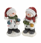 Snowman Buddies Figurines