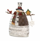 Merry Christmas Snowman Decor