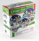 Snowman Holiday Dinnerware Set