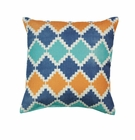 Southwestern Diamond Throw Pillow
