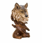 Spirit of the Wolf Bust Statue