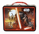 Star Wars Episode Vii Black/Red Tin Lunch Box