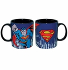 Superman DC Comics 14 Oz Blue Mug