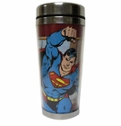 Superman DC Comics 16 Oz. Travel Mug
