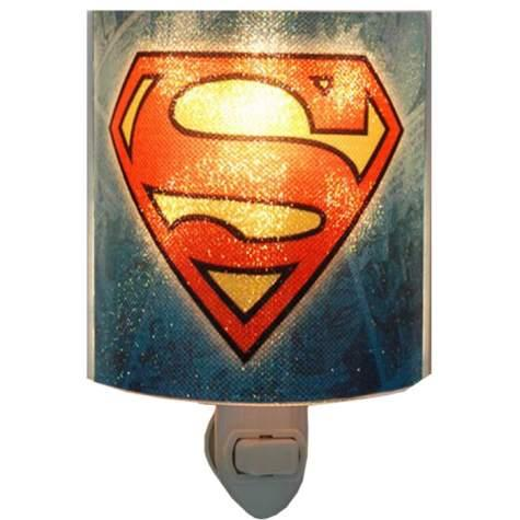 Superman Logo Acrylic Nightlight