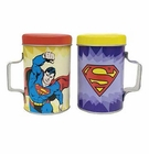 Superman Tin Salt & Pepper Shakers