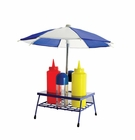Umbrella BBQ Condiment Set