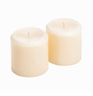 Vanilla Ivory Pillar Candles