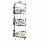 Vintage Charm Triple Wall Rack