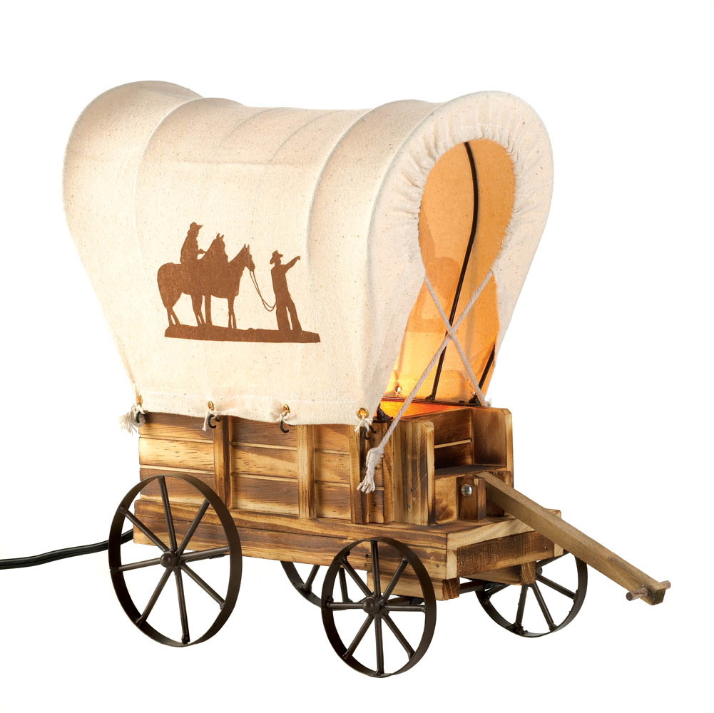 Western Wagon Table Lamp Wholesale At Koehler Home Decor
