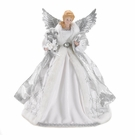 White Christmas Angel Tree Topper