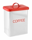 White Coffee Kitchen Canister