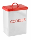 White Cookies Kitchen Canister