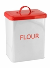 White Flour Kitchen Canister