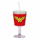 Wonder Woman Insulated Goblet with Lid