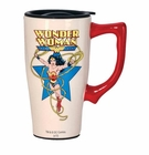 Wonder Woman White Travel Mug with Handle