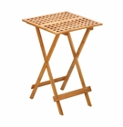 Wood Folding Tray Table