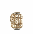 Woven Rattan Candle Lantern (S)