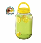 Yellow Gallon Beverage Dispenser