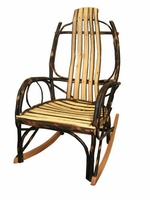 Rustic Bentwood Rocker all Hickory